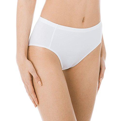 CALIDA Damen Vitality Rio Slip, Weiß (Weiss 001), 40 (Herstellergröße: L)