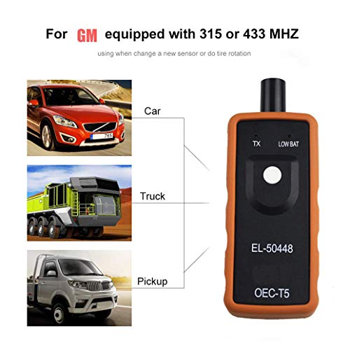 EL-50448 Auto Reifendruck-Monitor Sensor TPMS Aktivierungswerkzeug TPMS Reset Tool OEC-T5 für GM Fahrzeugserie,...