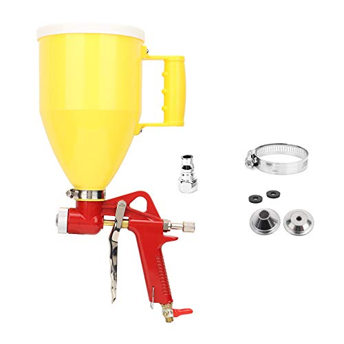 Air Hopper Spray Gun, Spray Gun, Wall Painting Stable Performance 1/4In Construction Site Home Decoration Kitchen for Home