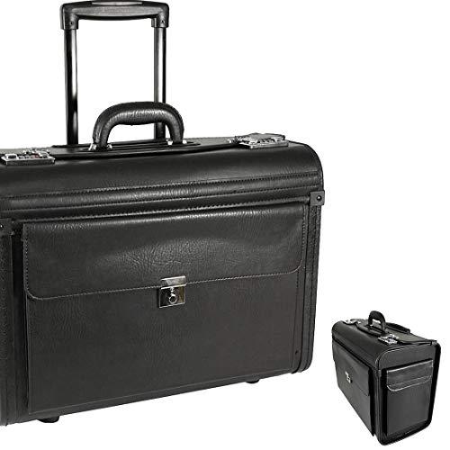 "Business Trolley Schultrolley Notebookfach 17\"" Zoll Rucksacktrolley Cabin Case"