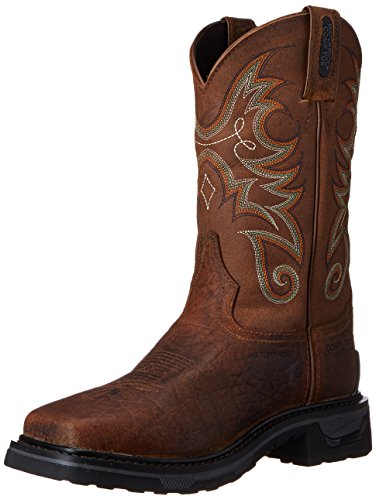 Tony Lama Men's Water Buffalo Comp Toe Western Boot, Sierra, 10.5 D US