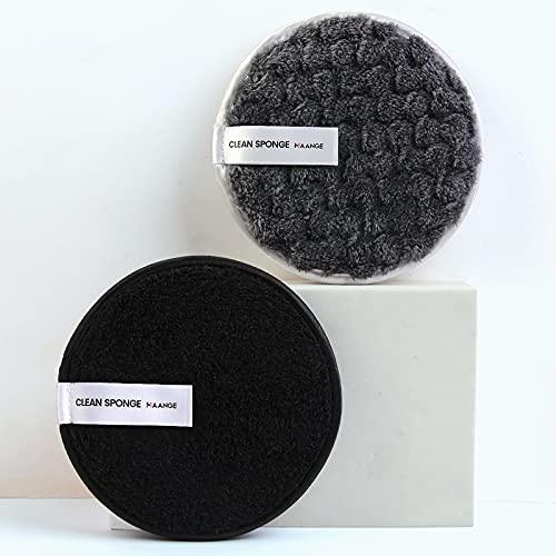 QIFLY Lingettes démaquillantes réutilisables en microfibre - Lavables et écologiques - Pour tous les types de peau