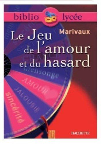Le jeu de l'amour et du hasard : Texte intégrale + dossier by Pierre de Marivaux(2003-11-19)