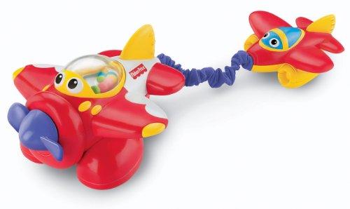 Mattel V6993 - Fisher-Price Lustiges Fahrzeug Flugzeug