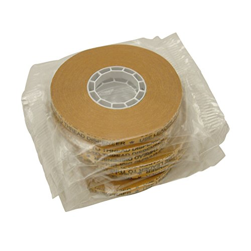 JVCC ATG-7502 ATG Tape: 1/4 in. x 36 yds. (Klarer Klebstoff auf Gold Liner) / core for Scotch 1/4 dispensers [6 pack]