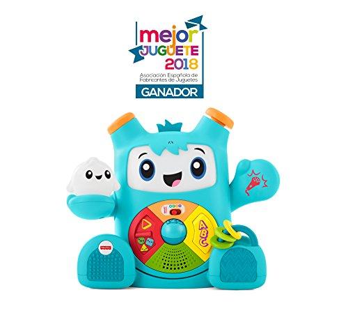 Fisher-Price Rocky Roquero Elektronisches Spielzeug für Babys + 6 Monate (Mattel FXD05), Modelle