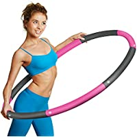 Potok Weighted Exercise Removable Professional Fitness Workout Hoop