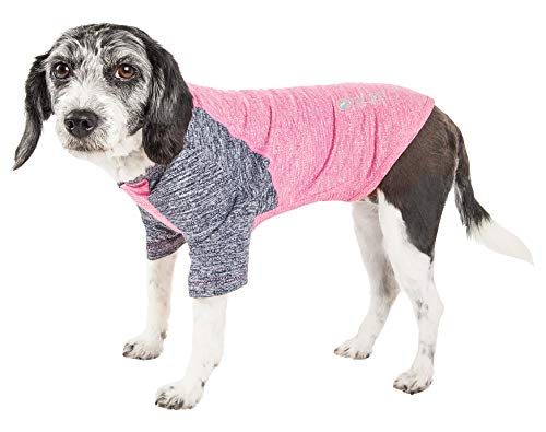 Pet Life Active 'Hybreed' 4-Way Stretch Two-Toned...