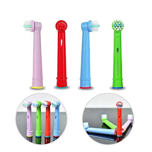 JJPRIME - Cabezales de repuesto para cepillos de dientes eléctricos 8pcs Repuestos...