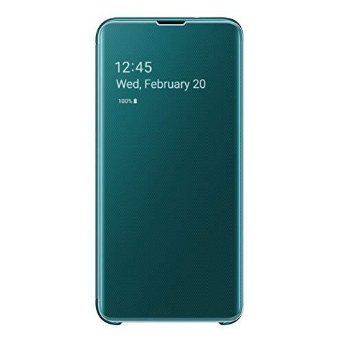 Clear View Cover für Galaxy S10e Grün