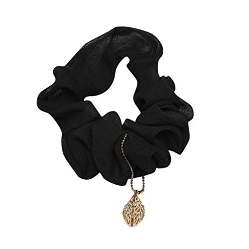 Longra haarband voor dames, elastisch, met elastiek voor meisjes, meerkleurig