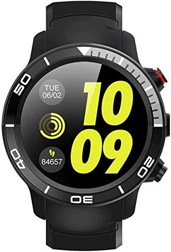 Smart Watch 4G Full Netcom Smart Watch IP68 resistente al agua, modo multideporte para monitorizar la frecuencia cardíaca de llamada, adecuado para Android 7.1-B.