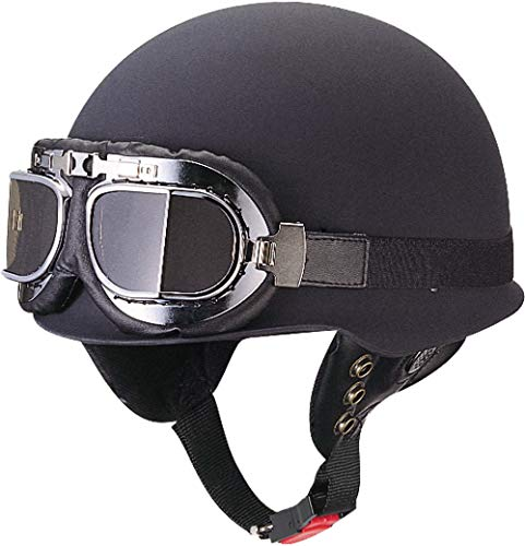 マルシン(MARUSHIN) バイクヘルメット ジェット ビンテージ CL-275 マットブラック フリーサイズ(57~~58CM)