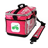 KITBRIX Organized Sports Gear Kit Bag - Football Rugby OCR Triathlon Transition Bag Swimming Cycling Running - Pink