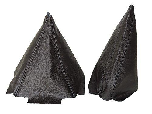 Für Honda CRX del Sol 1992–1997Gear & Handbremsmanschette schwarz Leder