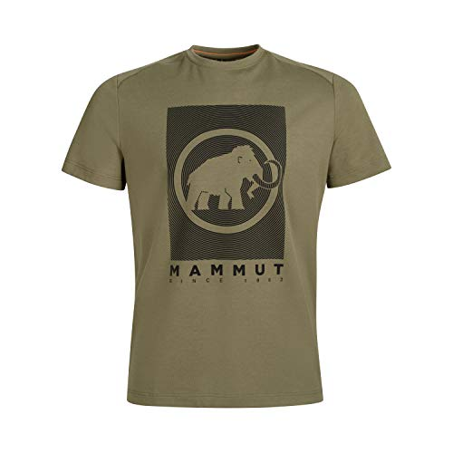 Mammut Herren T-shirt Trovat, grün, L