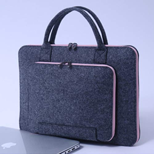 N/A QAQZZ mannen vrouwen handtas laptop aktetas 11 14 tas voor Air Pro Retina 13 15 afdekking 17.3 notebook- tas