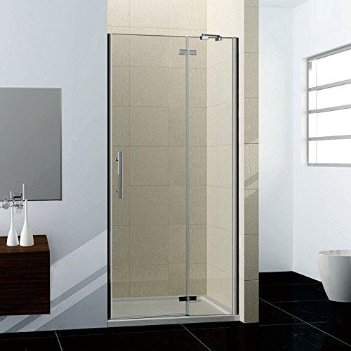 100x190cm Duschabtrennung Duschtür Nischentür Dusche Drehtür NANO Duschwand