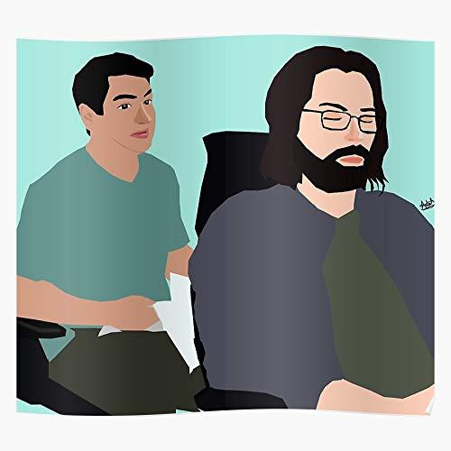 ROSABELLA Valley Tv HBO Silicon Show Fanart Das eindrucksvollste und stilvollste Poster für Innendekoration, das derzeit erhältlich ist
