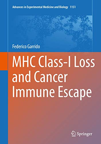 MHC Class-I Loss and Cancer Immune Escape (Advances in Experimental Medicine and Biology (1151), Band 1151)