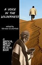 A Voice in the Wilderness: A Critical Press Media Benefit Book