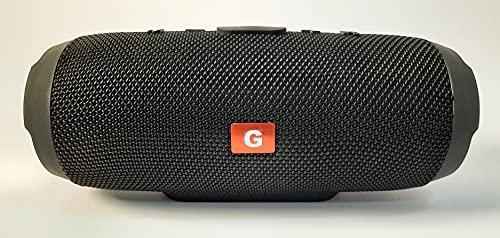 Altavoz inalámbrico Bluetooth portátil, Potente con función Wireless transmiter, Resistente al Agua y 20 Horas de reproducción Musical.