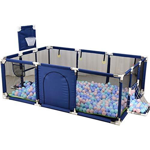 ZHUIL-Baby playpens Extra Grande Bebé Parque Infantil Interior Y Exterior Espacio De Juego Seguridad para NiñOs Centro De Juego Patio Casa Cerco Interior Altura 66 Cm Size