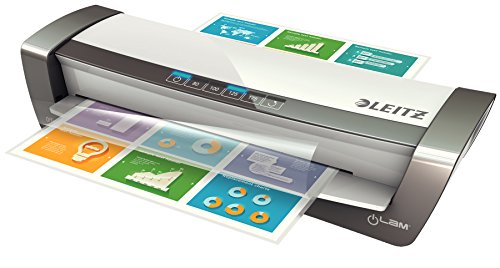 Leitz Office Pro Laminator A3, Ideal for Offices and Schools, Silver, iLAM Range, 75181084