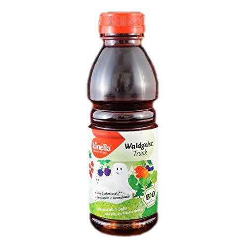 Kinella Bio - Waldgeist Trunk, Bio Erfrischungsgetränk für unterwegs / das Angebot enthält 6 x a, 0,5l Flaschen von der Lausitzer Früchteverarbeitung GmbH aus Sohland/ Spree