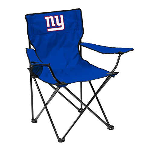 Logo Brands Officially Licensed NFL Unisex Quad Chair, One Size, New York Giants