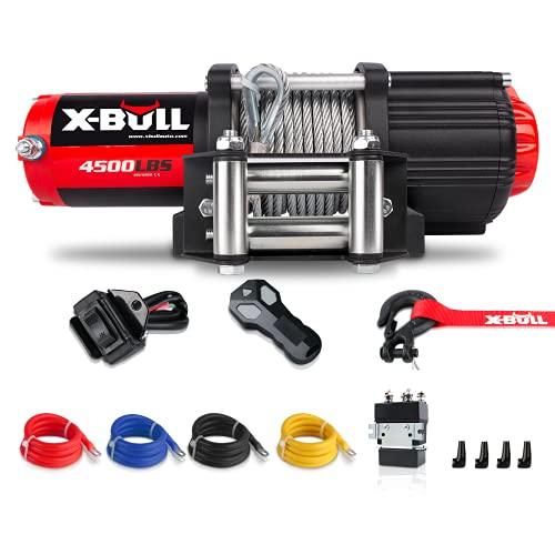 X-BULL 4500LBS Steel Wire Electric Winch