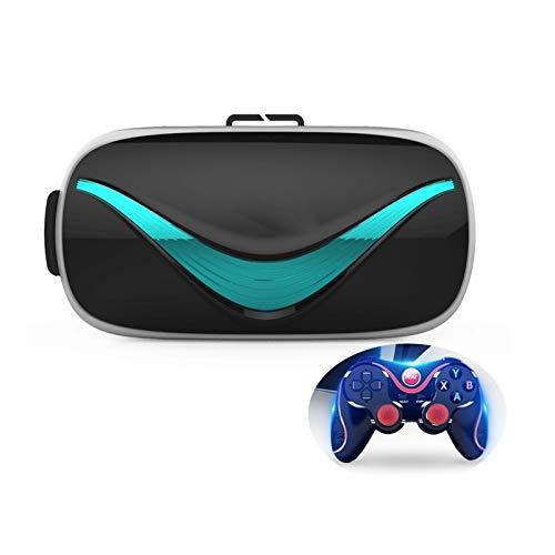 Smart VR Gläser, 3D Virtual Reality Theatre, Head-Mounted Gaming Helm, Familienfreizeit, Spiele/Filme/Lernen, Geschenke
