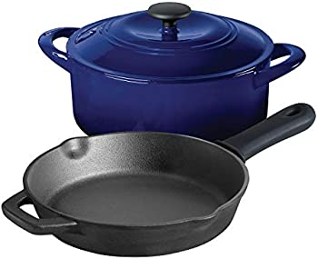 Tramontina 3-Piece Kitchen Essentials Cast Iron Cookware Set