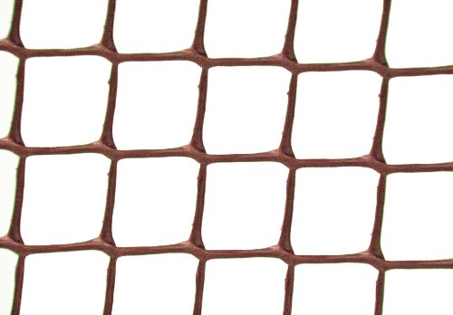 Garden Experts Maschendraht, Kunststoff, Maschenbreite 50mm,0,5x20m, Braun
