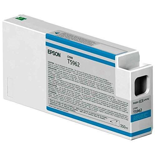 Epson UltraChrome HDR Ink Cartridge - 350ml Cyan (T596200)