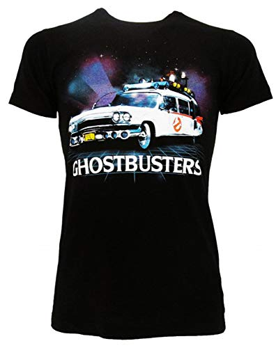 Ghostbusters 80s Ectomobile Unisex T-shirt, Offically Licensed