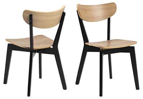 Design Furniture Roxanne Silla de Cuna, Roble, Natural, L: 55 x W: 45 x H: 79.5 cm