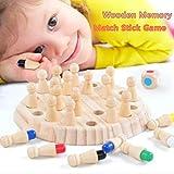 serliyHolz Memory Match Spiel Kinder Intelligenz IQ Denkaufgabe Spiel Kinder