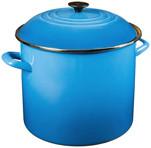 Le Creuset Enamel On Steel Stockpot, 20 qt.
