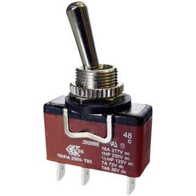 ARCOLECTRIC C3921BEAAA Kippschalter 250 V/AC 10 A 1 x (EIN)/Aus/EIN IP67 tastend/0/rastend 1 St.