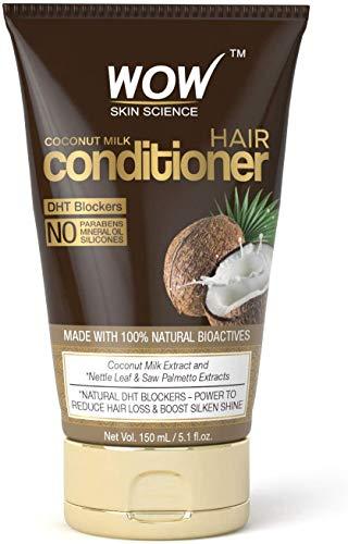 Glamorous Hub WOW Skin Science Acondicionador de leche de coco 150 ml TUBO (el empaque puede variar)