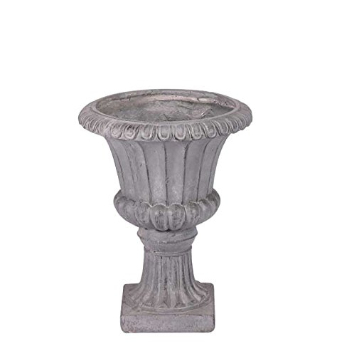 APAC 37x29x29cm Moderna Garden Urn 'Frost Proof' Grey