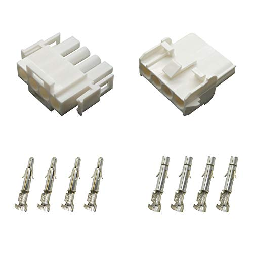 Stecker Set Steckverbinder Universal Mate N Lok 4-polig incl. Kontakten