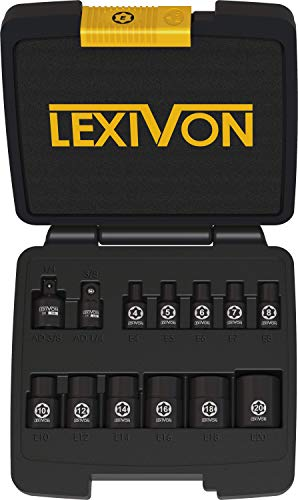 LEXIVON E-TORX Socket Set