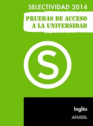 Inglés. Selectividad/PAU 2014