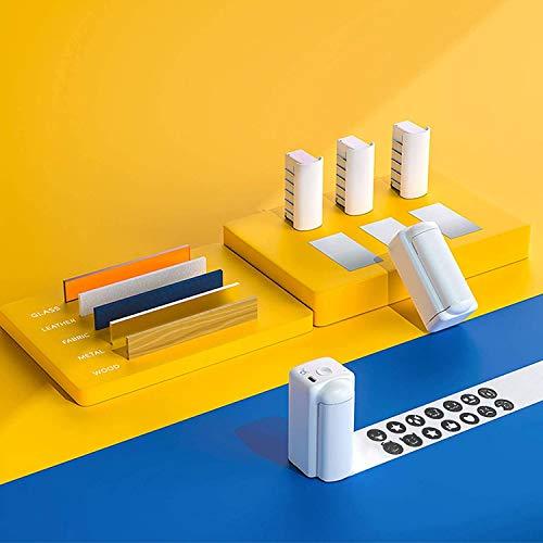 InLoveArts Mini Impresora Inteligente de Inyección de Tinta de Secado Rápido y Impermeable con Tinta Impermeable de Secado rápido, impresión en Papel, Ropa y Otras Superficies