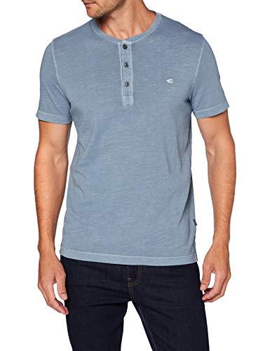 camel active Herren 4096014T0141 T-Shirt, Steel Blue, 3XL