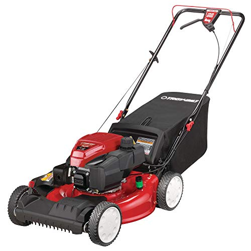 8. Troy-Bilt Gas Walk Behind Self Propelled Lawn Mower