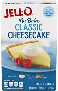 JELL-O No Bake Cheesecake Dessert (11.1 oz Box)