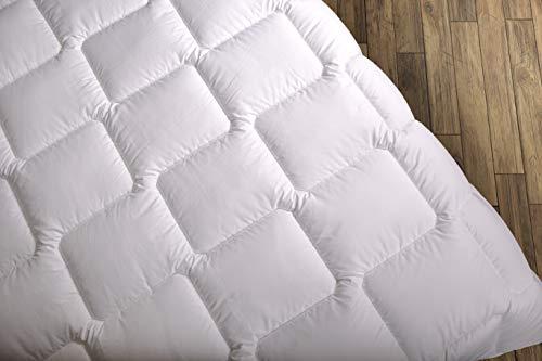 Wendre Premium Bettdecke - 220x240 cm Ganzjahresdecke | Steppdecke mit Mikrofaser Oberfläche - Weich & Warm | Pflegeleichte Decke - Top für Allergiker | Steppbettdecke für alle Jahreszeiten - 220 240